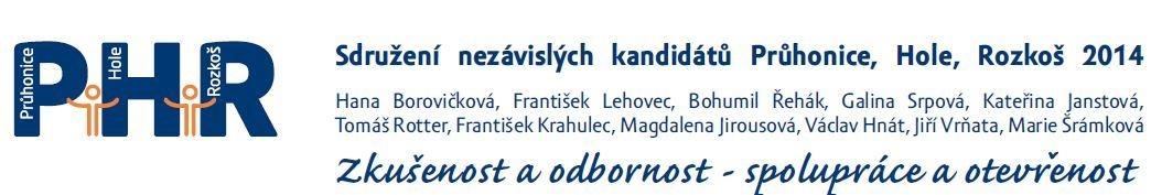 Hana Borovičková na kandidátní listině