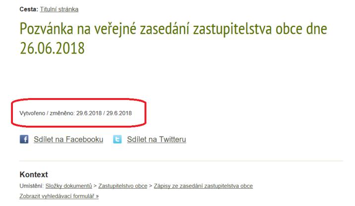 Datum zmenšený 2